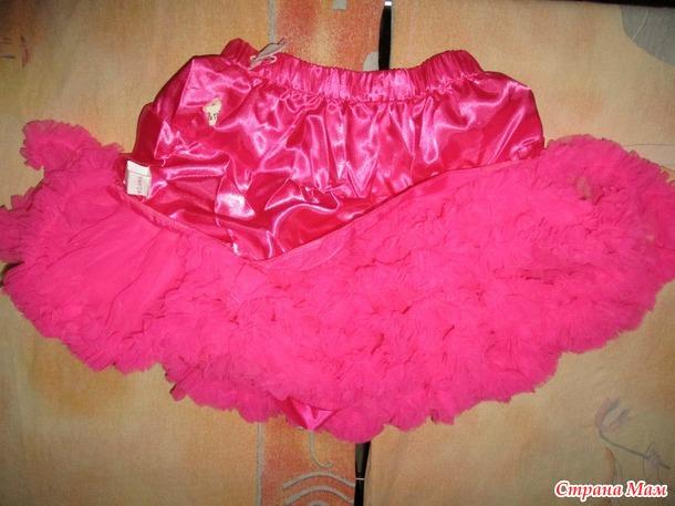 Нарядная юбка для девочки+