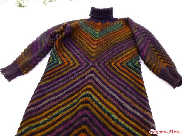 Платье или пул спицами Магический квадрат.