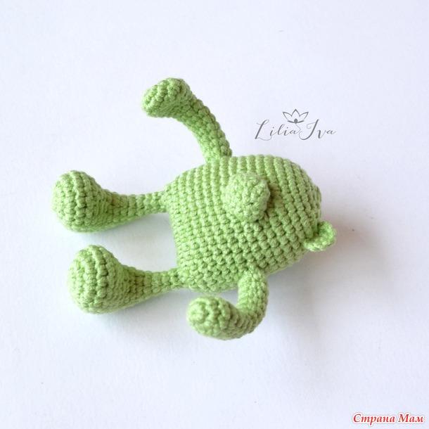 Вяжем игрушку «Мишка»