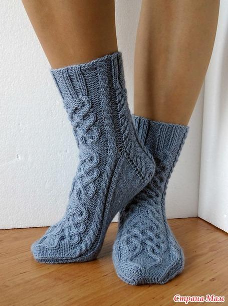 мои конкурсные носочки кельтские узоры 1 приглашаю страна мам