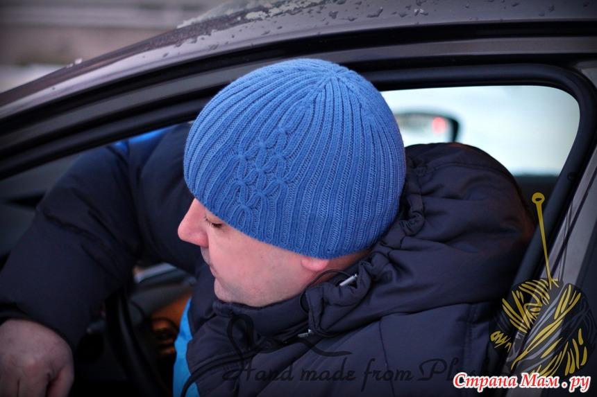 Шапочка вязание на машине 892