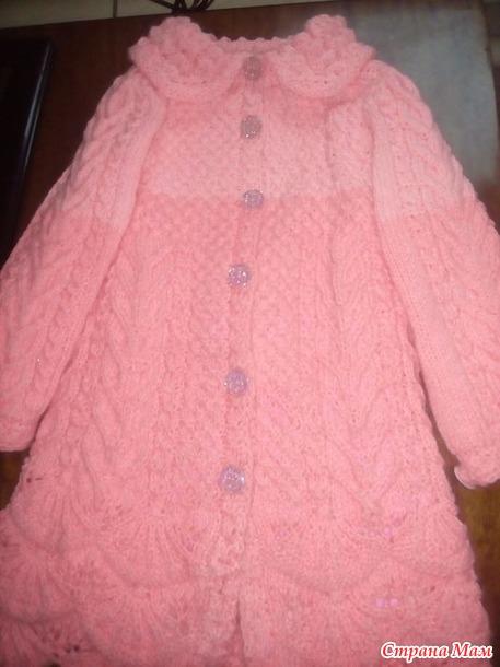 Пальто для внучки
