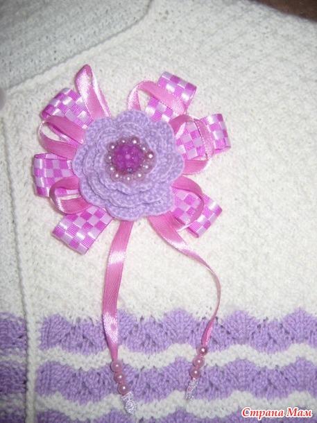 Комплект нарядный для девочки (платье+болеро)
