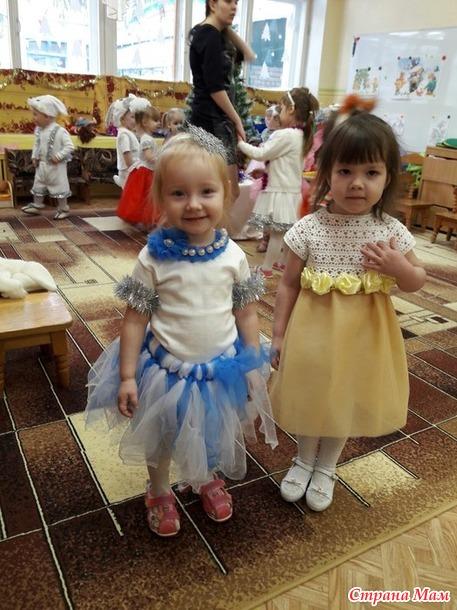 Платье дочке на утренник