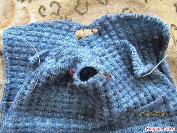 Alize show punto batik. Готовый свитер