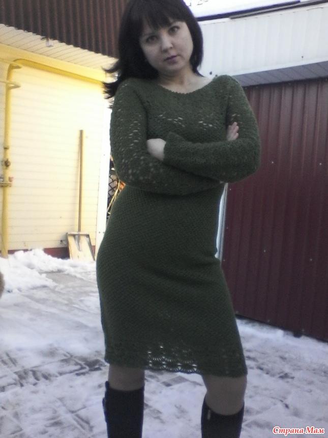 Красивое платье крючком на все случаи жизни. Описание, схемы.