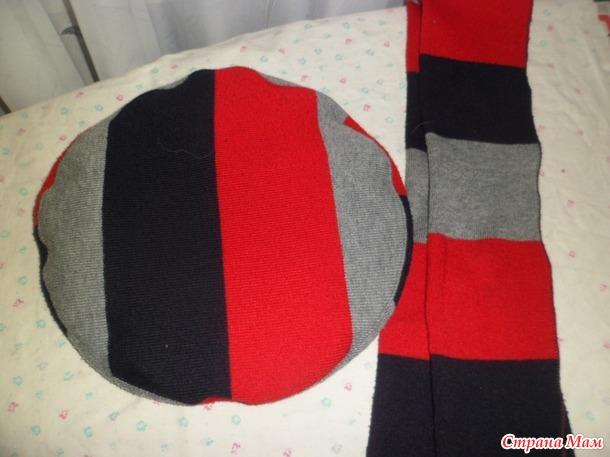 Береты из старых свитеров и вообще из чего угодно