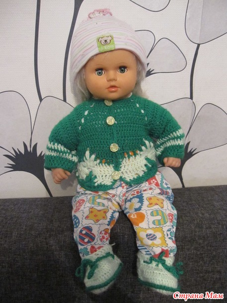 Еще одна куколка.