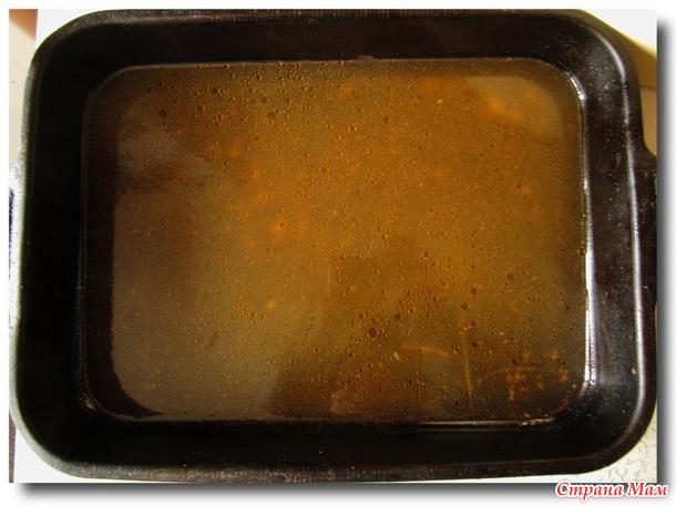 Икра из кабачков, приготовленная в рукаве