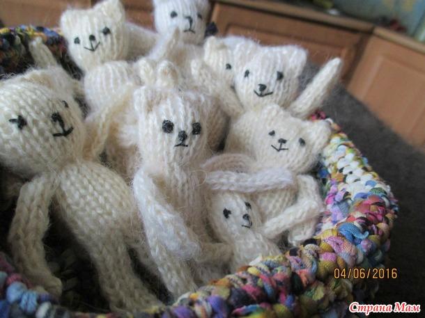 Мои первобытные мишки