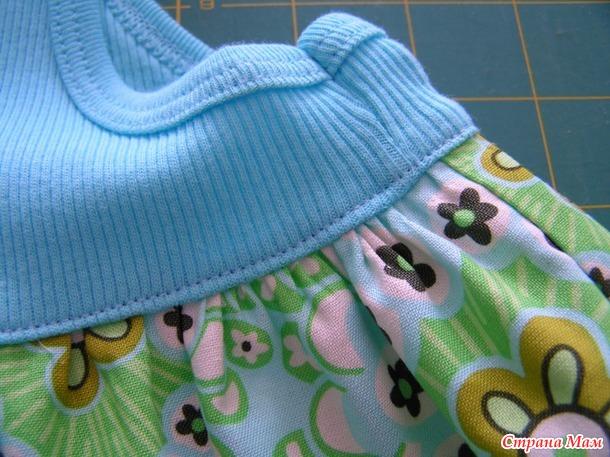 Платье для девочки из майки