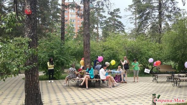 День вязания на публике в Чите 2016!!!