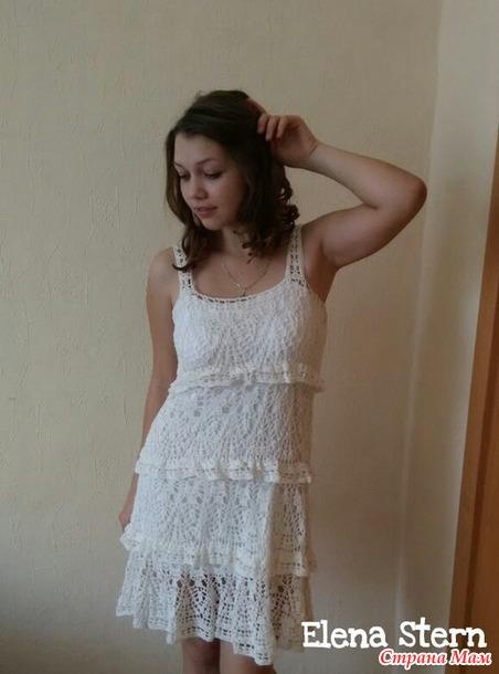 Сарафан и юбочка по мотивам Анны Костуровой