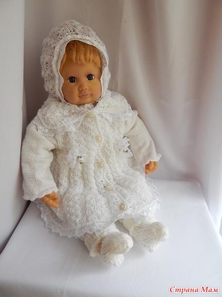 новые вязаные вещи для девочки вязание страна мам