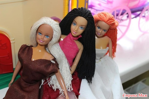 ПОМОГИТЕ! Прошивка волос кукле настоящими волосами
