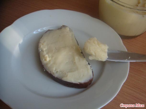Домашний плавленый сыр Янтарь