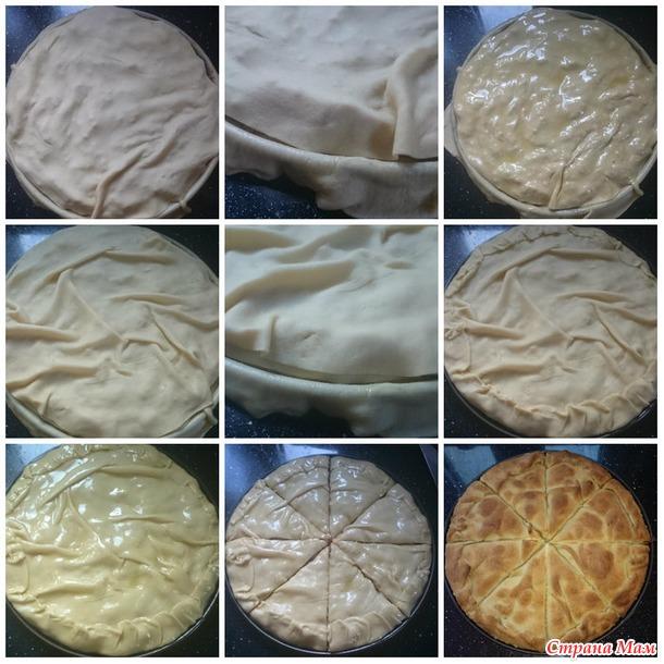 МК по красивому пирогу