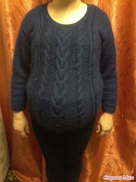 Беременный пуловер.