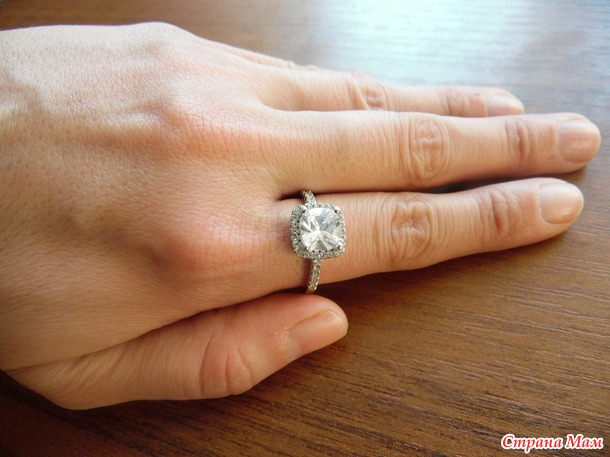 Элегантное кольцо+