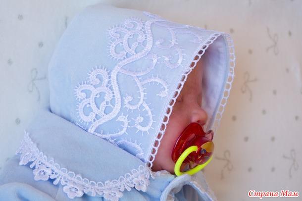 """Комплект для новорожденного """"мотылек"""""""