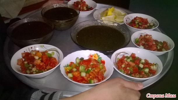 Палестинско-иорданская кухня. Часть вторая. Крупы