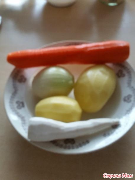 Суп с клецками из манки. (№ 2)