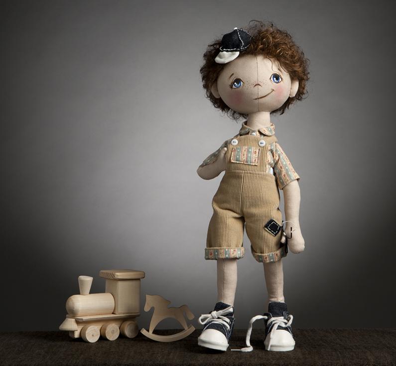 Текстильная кукла изготовление своими руками 141