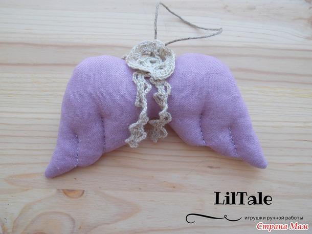 Текстильные елочные игрушки в эко-стиле