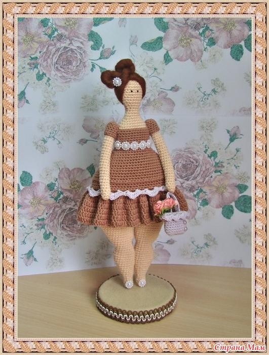 мастер класс вязаная кукла крючком тильда толстушка ярмарка см