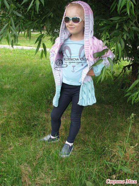 """Детские пальто и жилет в стиле """"Лало"""""""