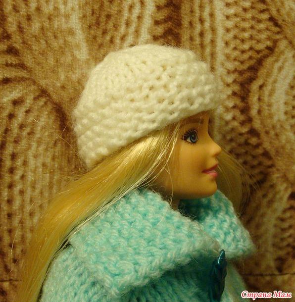 Вяжем вместе зимний наряд для Барби