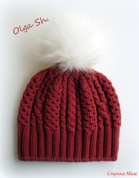 """Шапочка """"Модница"""" (Woman of Fashion Hat) + описание"""