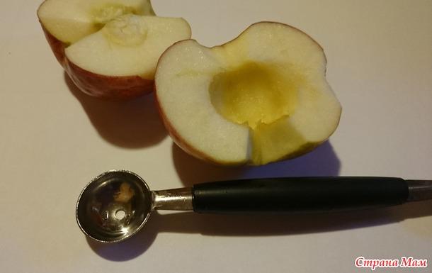 """Ложка для дыни = яблоко вырезалка. (Дополнила """"идеальной"""" вырезалкой)+"""