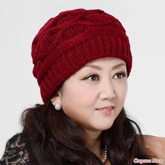 нужны схемы шапок для дамспицами вгу вязаные головные уборы