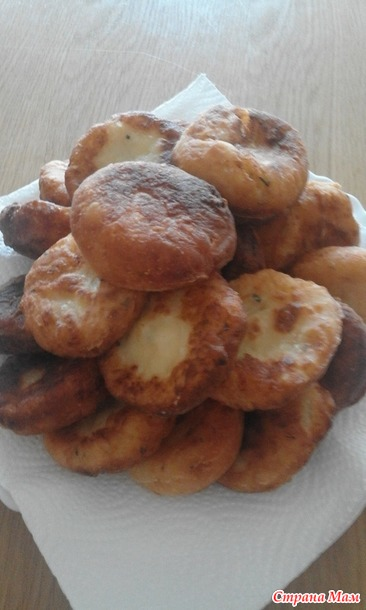 Картофельные пышки...