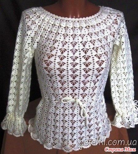 платье в этническом стиле филейка крючок вязание страна мам