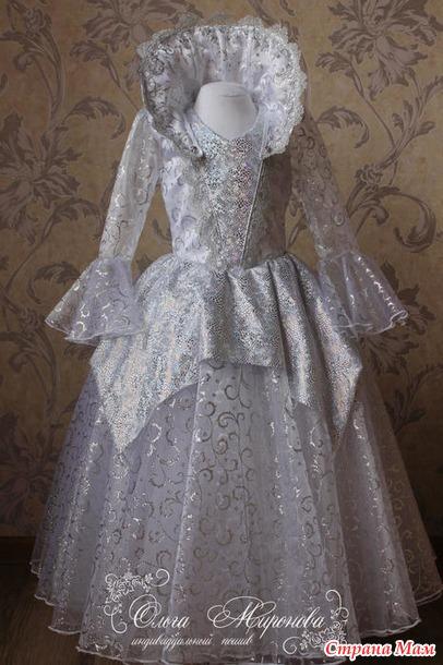 Сшила костюм Снежной Королевы ac742073961d2