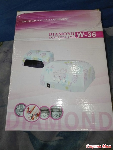 36 Вт LED CCFL УФ-лампа+