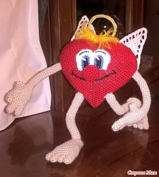 Валентин. Вязаная игрушка. МК. 2 серия.