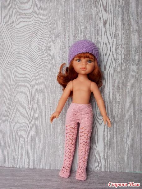 Колготки для кукол Паола с новым телом.