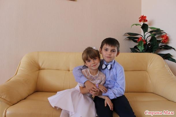 Белое платье трансформер для дочки