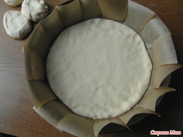 Картофельно - булочный пирог.