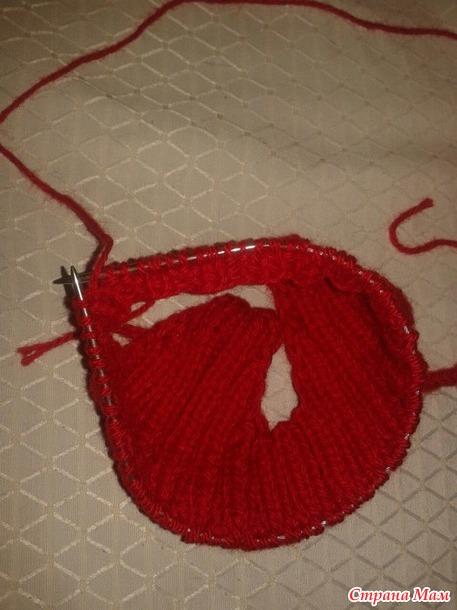 Красная шапочка и манишка