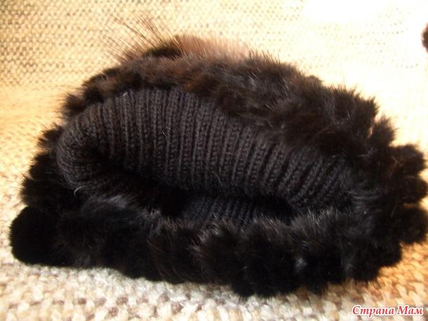 Зимняя шапка+