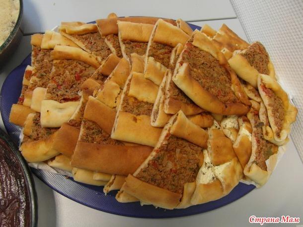 Турецкая пицца - пиде