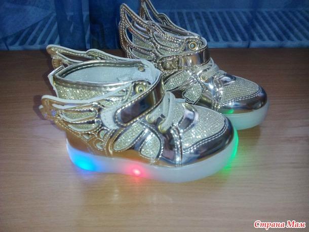 Туфельки и кроссовки для девочки