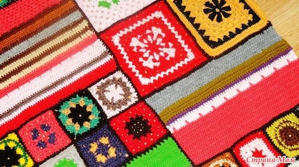 Вязанье в домашнем интерьере. Часть 3.