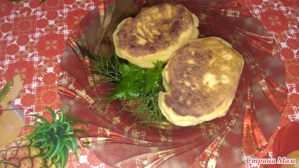 Волшебные пирожки с картошкой и мясом
