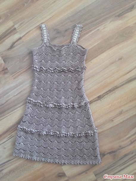 Платье Майорка по мотивам Ванессы Монторо