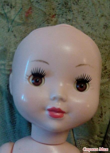 Долгоиграющий ремонт куклы